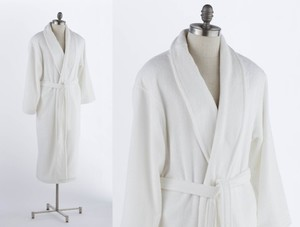 COYUCHI FRENCH TERRY SPA ROBE Organic Cotton