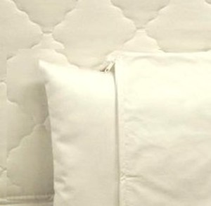 ALLERGEN PILLOW COVER Organic QUEEN SIZE-copy