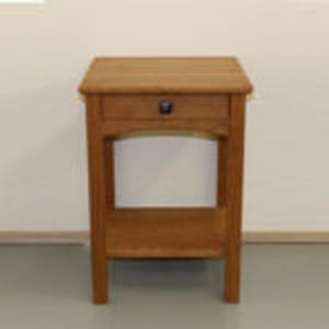 PACIFIC RIM NIGHTSTAND CHERRY WOOD