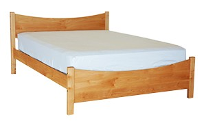 PACIFIC RIM PLATFORM INVERTED BED MAPLE TWIN