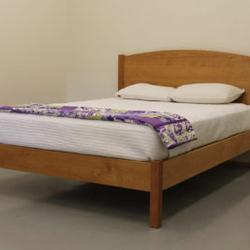 PACIFIC RIM PLATFORM SHASTA BED CHERRY FULL QUEEN