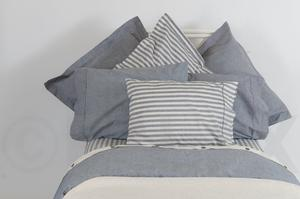 NATIVE SHEET SETS PIMA ORGANIC COTTON TEXTURED INDIGO ONLY