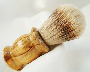 SIVERTIP SHAVING BRUSH Handmade USA