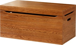 TOY BOX SOLID US WOOD NON TOXIC