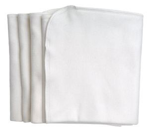 BURP CLOTH 4 PK Organic Cotton