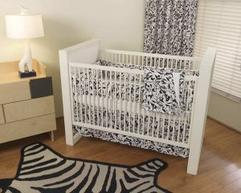 CASABLANCA COLLECTION 4PC CRIB SET Organic Baby Bedding