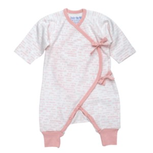 PINK DETAILS FOOTIE ORGANIC COTTON