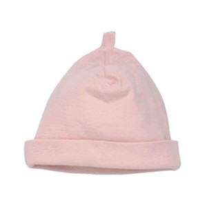 PASTEL MIX & MATCH NEWBORN PINK CAP Organic Cotton