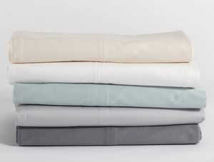 ECO HOME BASICS 300C SATEEN SHEET BED SETS GOTS Organic Cotton