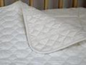 CRIB MATTRESS PAD ABSORBENT ORGANIC COTTON