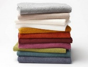 TWILL WOVEN ORGANIC BATH TOWEL SET