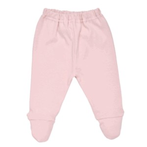 PASTEL MIX MATCH NEWBORN FOOTED PANT Organic