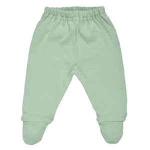 PASTEL MIX MATCH SAGE FOOTED PANT ORGANIC COTTON