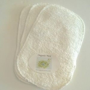 BABY WASHCLOTHS 3PK ORGANIC COTTON