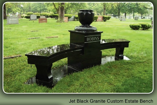 Benches - 973-748-0200 | Life Monuments of New Jersey