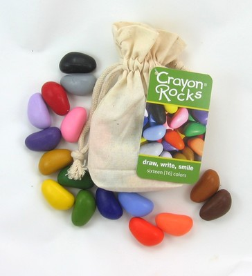 16 Rocks in a Cotton Muslin Bag