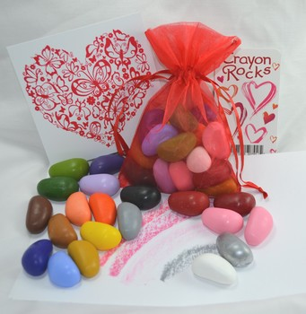 Valentine Gift Bag with Rubby Plate
