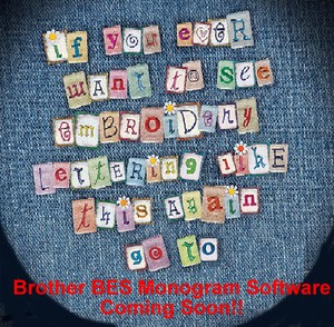 BES Embroidery Lettering Software