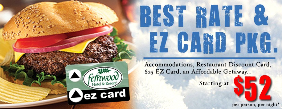 Best Hotel Rate and EZ Card Package Ad Banner