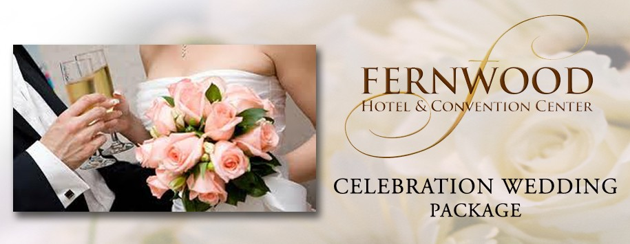 Fernwood Hotel Celebration Package Banner