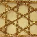 W. Glitter Geo Stars/Gold