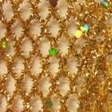 W. Glitter Net/Gold