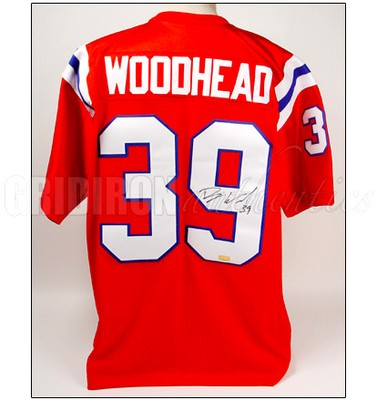 Danny Woodhead - Danny Woodhead Autographed Patriots Throwback ...