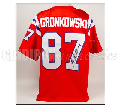 the best attitude 10331 c6ac0 Rob Gronkowski - Rob Gronkowski Autographed Patriots ...