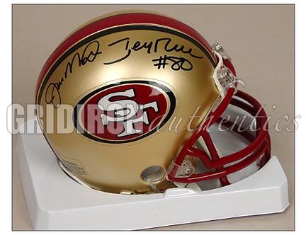 new product 6cafc ce033 Jerry Rice - Jerry Rice & Joe Montana Autographed San ...