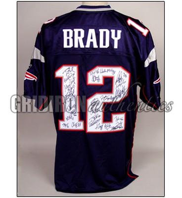 tom brady signature jersey