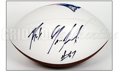 huge selection of 9322e 0f1ac Rob Gronkowski - Rob Gronkowski Autographed Patriots White ...