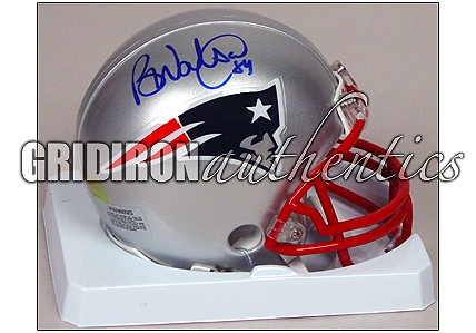 Ben Watson Autographed Patriots Mini-Helmet