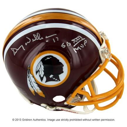 846905fe Doug Williams Autographed Washington Redskins Mini-Helmet w/ SB XXII MVP  insc ...