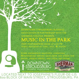 Music In The Park<p>Every Saturday June 15th-August 31st
