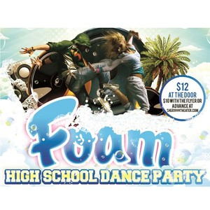 Sound Party: High School Foam Party <p> Saturday June 1st