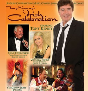 Tony Kenny's Irish Celebration<p>March 14