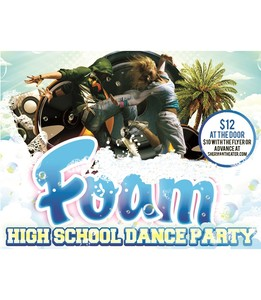 Sound Party: Summer Foam Dance Party <p> Saturday July 13th